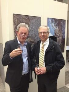 Yuri Dojc with FOS Vice Chairman Ken Bombara