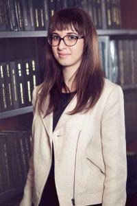 FOS Summer Scholar Andrea Ratkosova