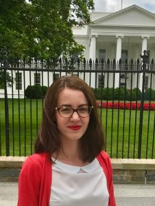 FOS 2017 Summer Scholar Michaela Halasova
