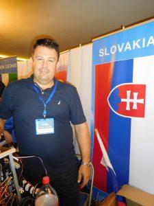 Team Ambassador, Stefan Vadocz, of Aeromobil