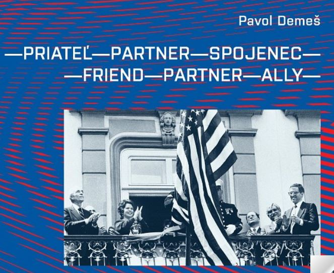 Book cover: Friend - Partner - Ally by Pavol Demes