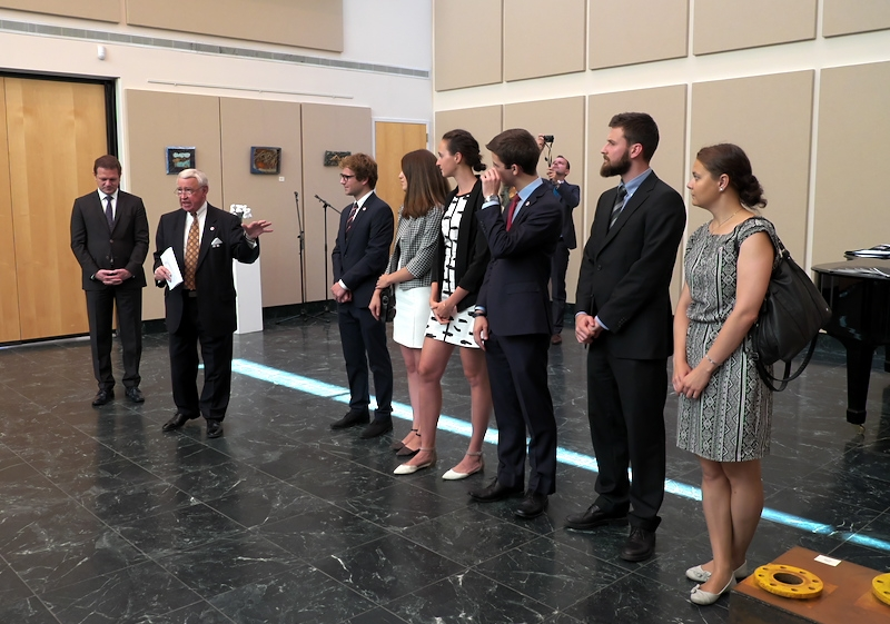 Reception honoring Friends of Slovakia Scholars at the Slovak Embassy in Washington, DC